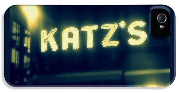 Nyc's Famous Katz's Deli IPhone 5 / 5s Case by Paulo Guimaraes