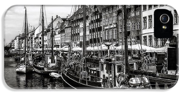 Danish iPhone 5 Cases - Nyhavn Harbor iPhone 5 Case by Erik Brede