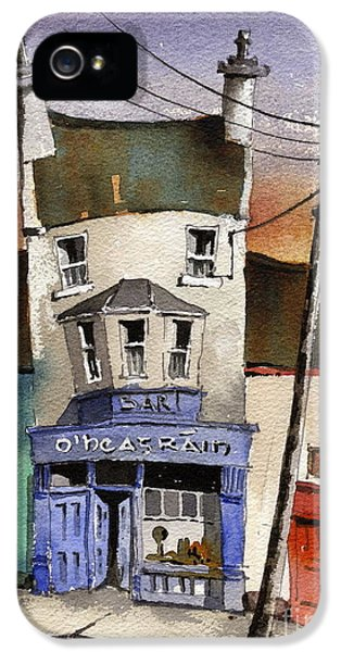 O Heagrain Pub Viewed 14254 Times IPhone 5 / 5s Case by Val Byrne