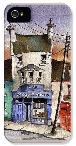 O Heagrain Pub Viewed 115737 Times IPhone 5 / 5s Case by Val Byrne
