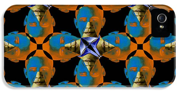 President Obama iPhone 5 Cases - Obama Abstract 20130202p28 iPhone 5 Case by Wingsdomain Art and Photography