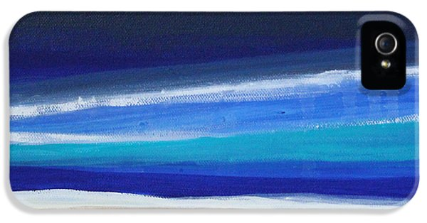 Tourism iPhone 5 Cases - Ocean Blue iPhone 5 Case by Linda Woods
