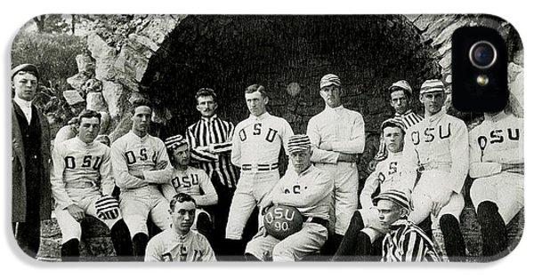 Ohio State Football Circa 1890 IPhone 5 / 5s Case by Jon Neidert