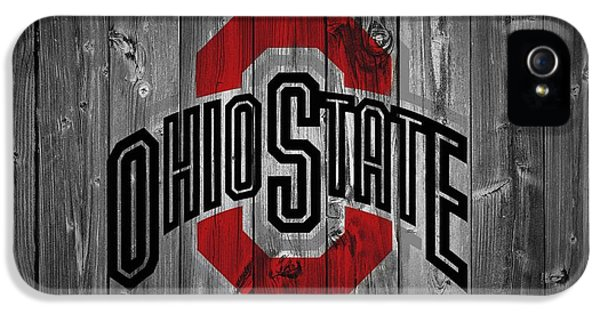 Gray iPhone 5 Cases - Ohio State University iPhone 5 Case by Dan Sproul