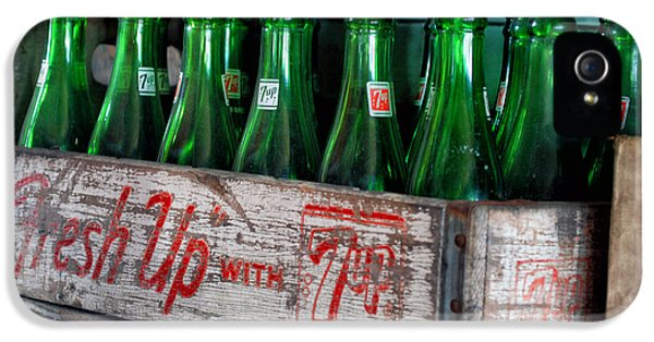 Old 7 Up Bottles IPhone 5 / 5s Case by Thomas Woolworth