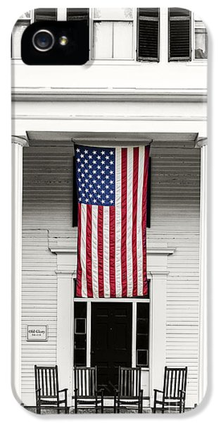 Fourth Of July iPhone 5 Cases - Old Glory Est. 1776 iPhone 5 Case by Edward Fielding
