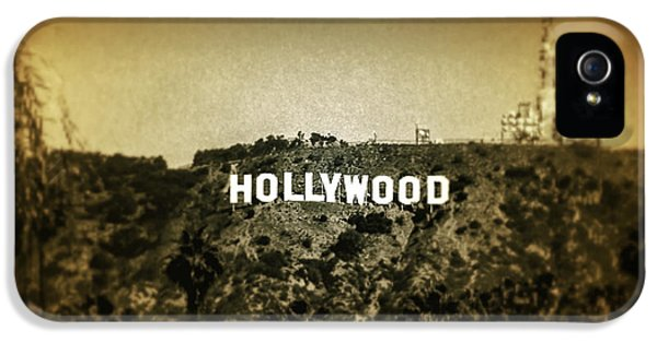 Drive iPhone 5 Cases - Old Hollywood iPhone 5 Case by Az Jackson