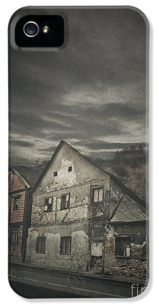 Haunted Houses iPhone 5 Cases - Old House iPhone 5 Case by Jelena Jovanovic