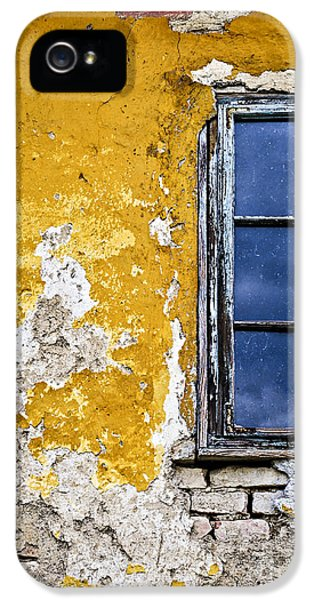 Fragment iPhone 5 Cases - Old wall in Serbia iPhone 5 Case by Elena Elisseeva