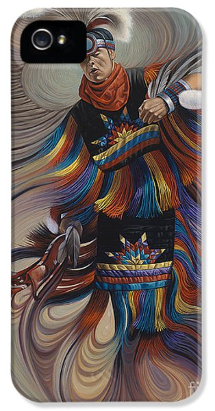 Native American iPhone 5 Cases - On Sacred Ground Series II iPhone 5 Case by Ricardo Chavez-Mendez