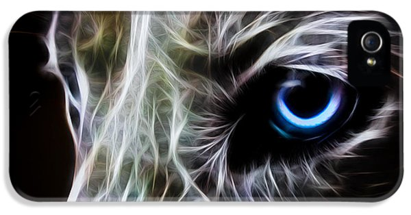 Anger iPhone 5 Cases - One Eye iPhone 5 Case by Aged Pixel