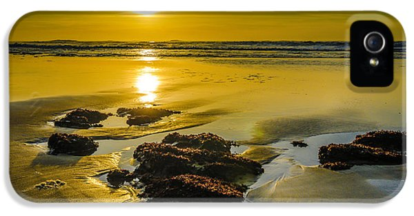 End Of Days iPhone 5 Cases - One Oregon Coast Sunset iPhone 5 Case by Puget  Exposure
