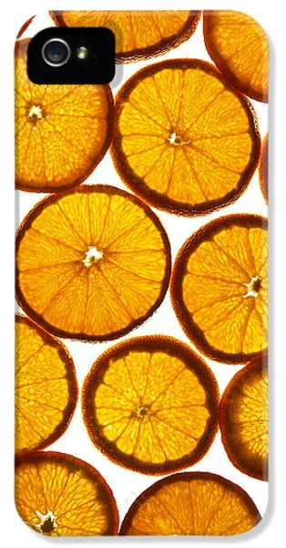 Tangerine iPhone 5 Cases - Orange fresh iPhone 5 Case by Vitaliy Gladkiy