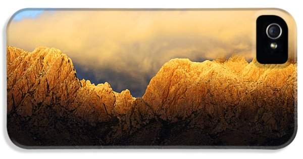 Organ iPhone 5 Cases - Organ Mountains Symphony Of Light iPhone 5 Case by Bob Christopher