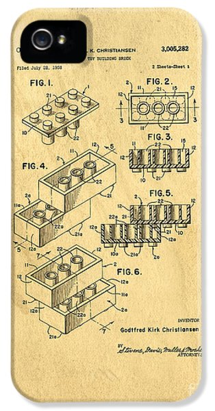 Diagram iPhone 5 Cases - Original US Patent for Lego iPhone 5 Case by Edward Fielding