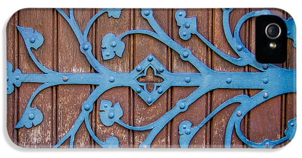 Ornate Church Door Hinge IPhone 5 / 5s Case by Mr Doomits