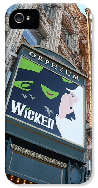 Theater iPhone 5 Cases - Orpheum Sign iPhone 5 Case by Carol Groenen