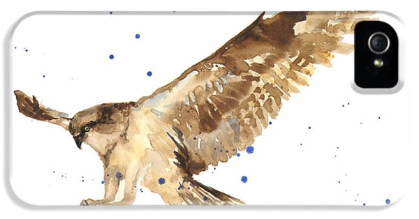 Osprey Painting IPhone 5 / 5s Case by Alison Fennell