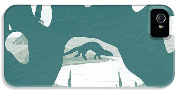 Playful iPhone 5 Cases - Otter paw iPhone 5 Case by Daniel Hapi