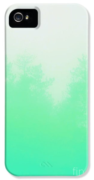 Spectrum iPhone 5 Cases - Out of focus mint iPhone 5 Case by Budi Kwan