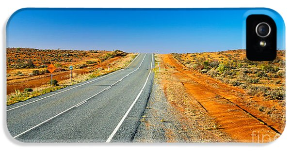 Broken iPhone 5 Cases - Outback Road iPhone 5 Case by Bill  Robinson