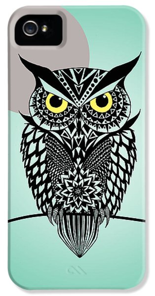 Owl 5 IPhone 5 / 5s Case by Mark Ashkenazi
