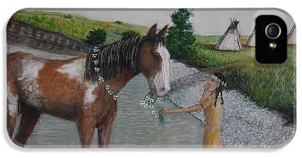 Paint Pony Original For Sale IPhone 5 / 5s Case by Larry Lamb