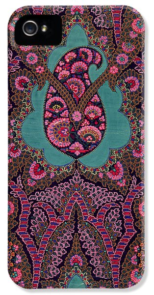 Cell iPhone 5 Cases - Paisley  iPhone 5 Case by George Charles Haite