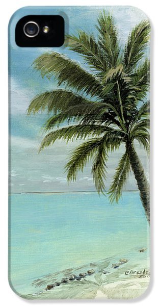Key iPhone 5 Cases - Palm Tree Study iPhone 5 Case by Cecilia  Brendel