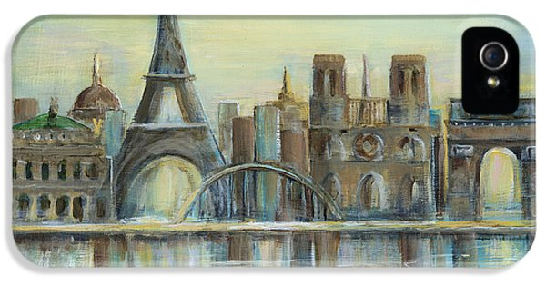 Sight iPhone 5 Cases - Paris Highlights iPhone 5 Case by Marilyn Dunlap