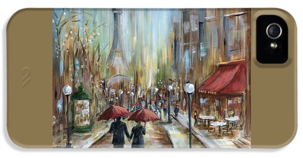 Paris Lovers Ill IPhone 5 / 5s Case by Marilyn Dunlap