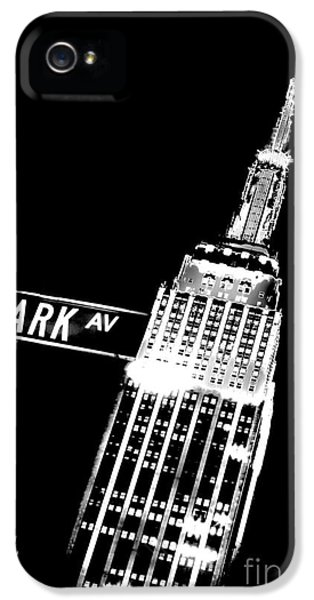 Midtown iPhone 5 Cases - Park Avenue iPhone 5 Case by Az Jackson
