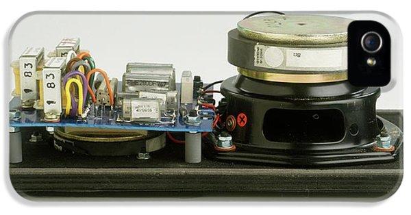 Parts Of A Loudspeaker IPhone 5 / 5s Case by Dorling Kindersley/uig