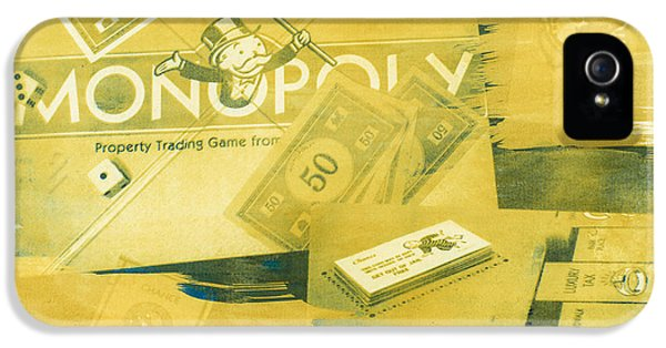 Monopoly iPhone 5 Cases - Pass Go iPhone 5 Case by Caitlyn  Grasso