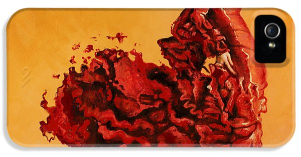 Dance iPhone 5 Cases - Passion iPhone 5 Case by Karina Llergo Salto