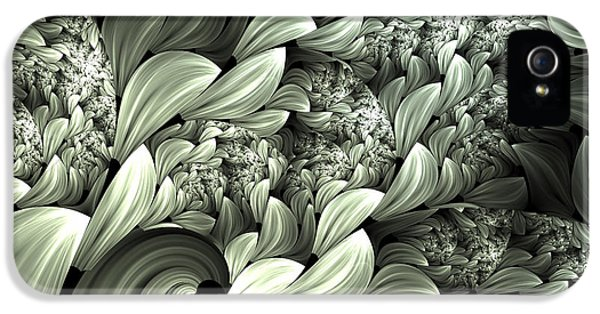 Asymmetrical iPhone 5 Cases - Pastel Garden Abstract iPhone 5 Case by Georgiana Romanovna