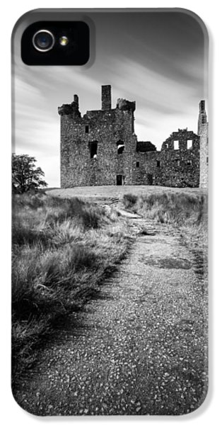 Castle iPhone 5 Cases - Path to Kilchurn Castle iPhone 5 Case by Dave Bowman
