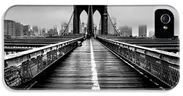 Hudson River iPhone 5 Cases - Path To The Big Apple iPhone 5 Case by Az Jackson
