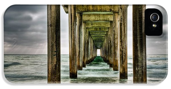 Pier iPhone 5 Cases - Pathway to the Light iPhone 5 Case by Aron Kearney Fine Art Photography
