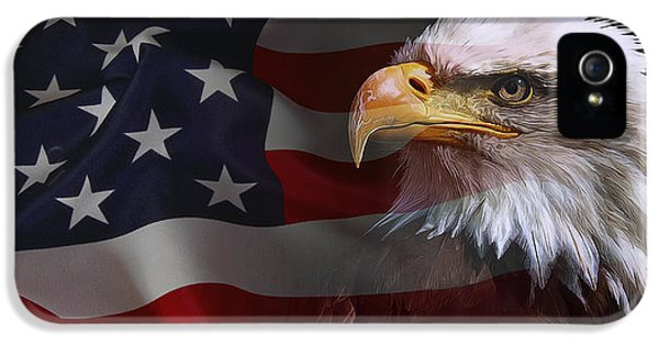 Us Constitution iPhone 5 Cases - Patriot United States iPhone 5 Case by Daniel Hagerman