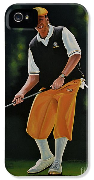 Play iPhone 5 Cases - Payne Stewart iPhone 5 Case by Paul  Meijering
