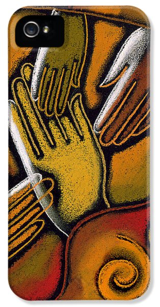 Peace IPhone 5 / 5s Case by Leon Zernitsky