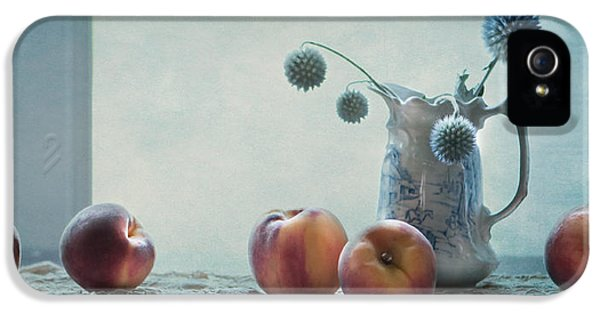 Peaches Still Life IPhone 5 / 5s Case by Maggie Terlecki