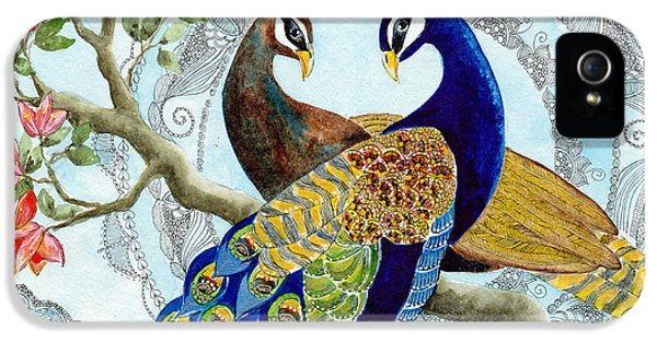 Peacock Love IPhone 5 / 5s Case by Susy Soulies