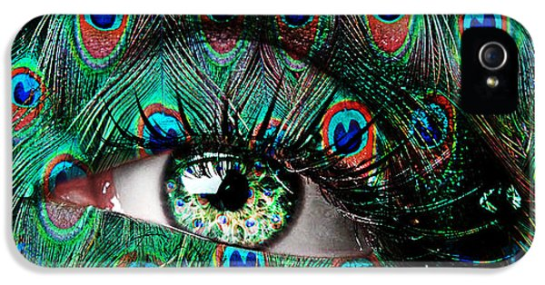 Peacock IPhone 5 / 5s Case by Yosi Cupano