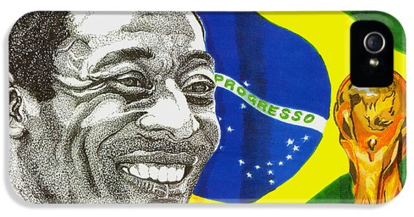 Pele IPhone 5 / 5s Case by Cory Still