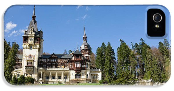 Peles Castle, Sinaia, Carpathian IPhone 5 / 5s Case by Martin Zwick