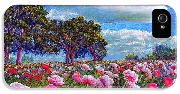 Peony Heaven IPhone 5 / 5s Case by Jane Small