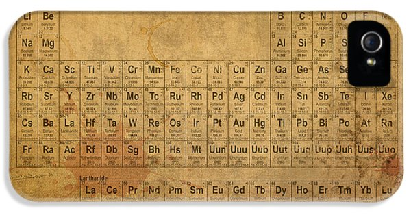 Element iPhone 5 Cases - Periodic Table of the Elements iPhone 5 Case by Design Turnpike