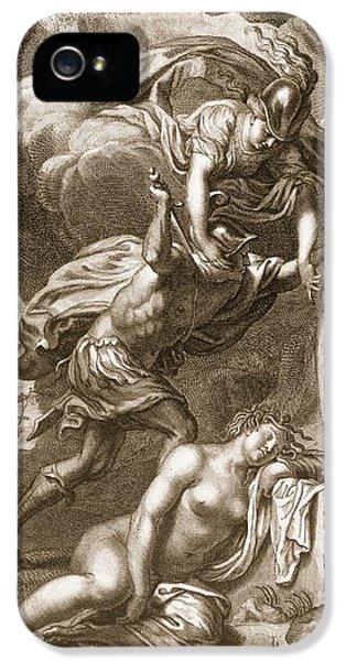 Perseus Cuts Off Medusas Head, 1731 IPhone 5 / 5s Case by Bernard Picart